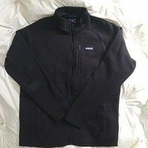 Men's Patagonia Zip-Up Jacket XL Black